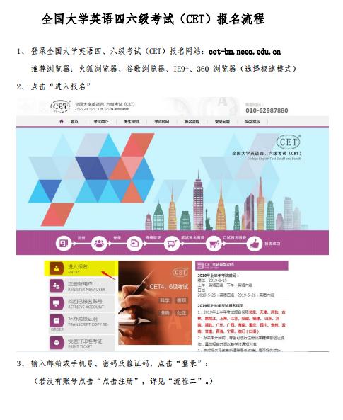 甘肃2019上半年英语四级报名流程及报名入口
