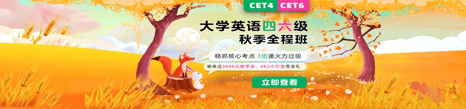 广西英语四级考试网络辅导